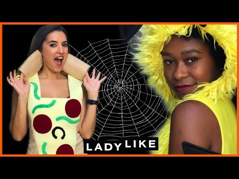 We Wore Silly Sexy Halloween Costumes For A Day