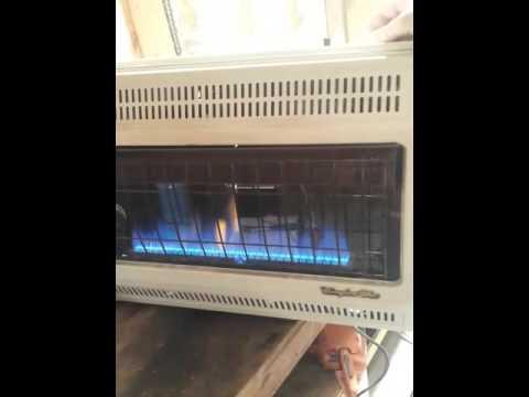 Comfort Glow Propane Heater Youtube