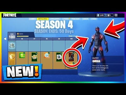 Fortnite Season 4 Battle Pass revealed - Polygon