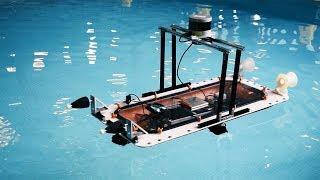 Printable autonomous boats