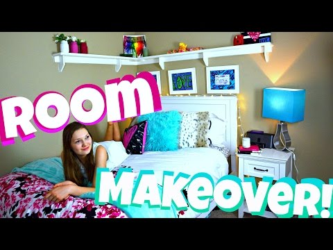 EXTREME Teen Room Makeover! + DIY Organization and Room Tour!