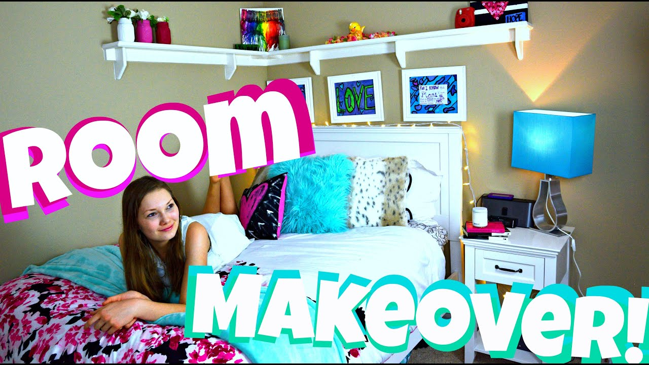 EXTREME Teen Room Makeover DIY Organization And Tour