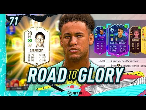 FIFA 20 ROAD TO GLORY #71 - ICON GARRINCHA!!