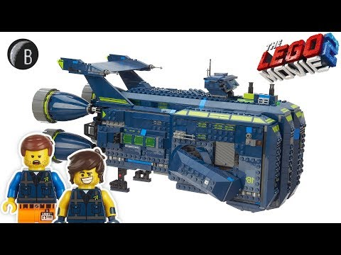 LEGO 70839 - The Rexcelsior! - The LEGO Movie 2 - Speed Build Review