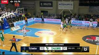 REACTION TO LAMELO AND LIANGELO BALL'S 1ST PRO GAME IN LITHUANIA VS. ZALGIRIS!