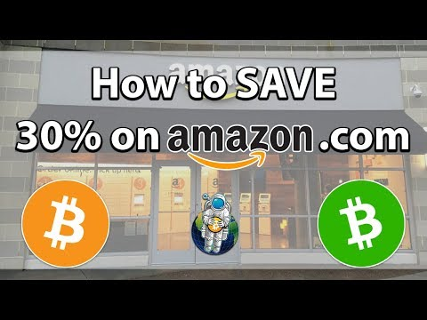 How To Save 30%+ On Amazon.com Using Bitcoin