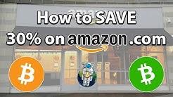 How to Save 30%+ on Amazon.com using Bitcoin