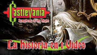 Castlevania Symphony of the Night: La Historia en 1 Video