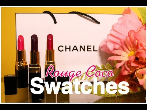 CHANEL ROUGE COCO Lipstick Review + Lip Swatches!
