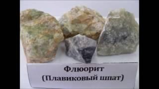 Коллекция горных пород и минералов в кабинете географии Петровской ОШ фото