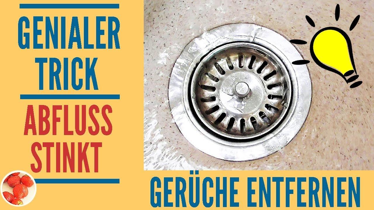 Genialer Trick: Abfluss stinkt? Mit diesen Hausmitteln den Abfluss reinigen  + 3 Bonustipps