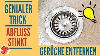 Genialer Trick Abfluss Stinkt Mit Diesen Hausmitteln Den Abfluss Reinigen 3 Bonustipps Youtube