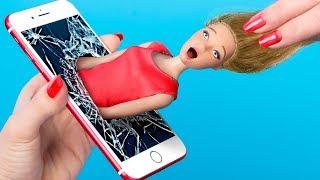 Un Día En La Vida De Barbie / Ideas Para Peinados y Ropa Para Barbie