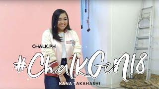 #ChalkGen18 featuring Kana Takahashi