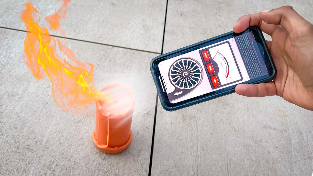 This app can BLOW OUT FIRES! 🔥