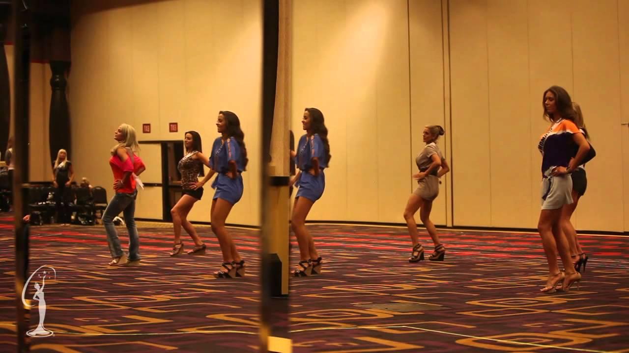 Miss USA 2011 - Rehearsal