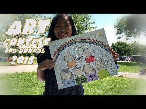 Illinois I Heart Children Art Contest - 3rd Annual HMart & K-Radio