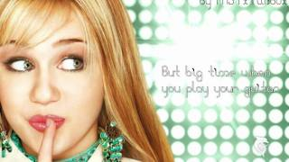Hannah Montana - The Best Of Both Worlds - Lyrics - HD