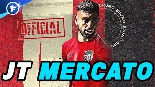 OFFICIEL : Bruno Fernandes signe à Manchester United pour 55M€ | Journal du Mercato