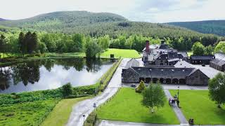 The Dram Drone Visits Royal Lochnagar Distillery