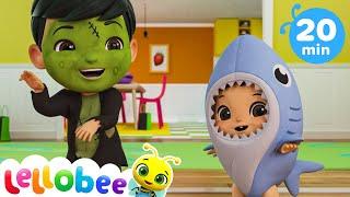 HALLOWEEN IS HERE! Halloween Songs | Nursery Rhymes & Kids Songs - ABCs and 123s | Little Baby Bum