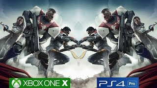 Destiny 2 Xbox One X vs PS4 Graphics Comparison - Native 4K On Xbox One X! [4k/60fps]