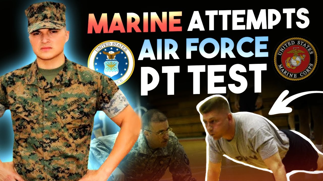 Marine Attempts Air Force PT test