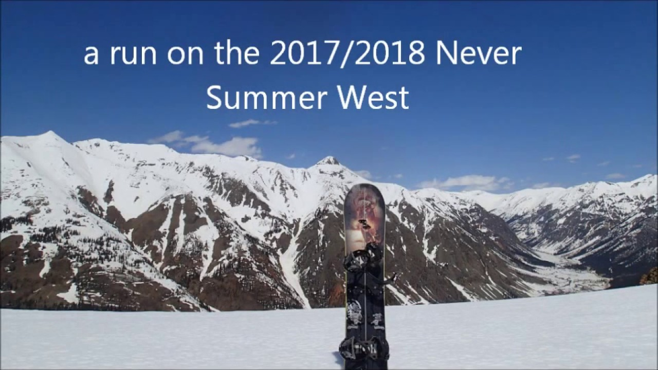 1708dcd929e Never Summer West splitboard - YouTube