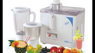 Maharaja WhiteLine Juicer Mixer JX-115 Unboxing and Demo