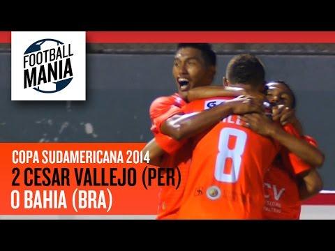 Univ. Cesar Vallejo (PER) 2-0 Bahia (BRA) - Copa Sudamericana 2014 - Round-of-16