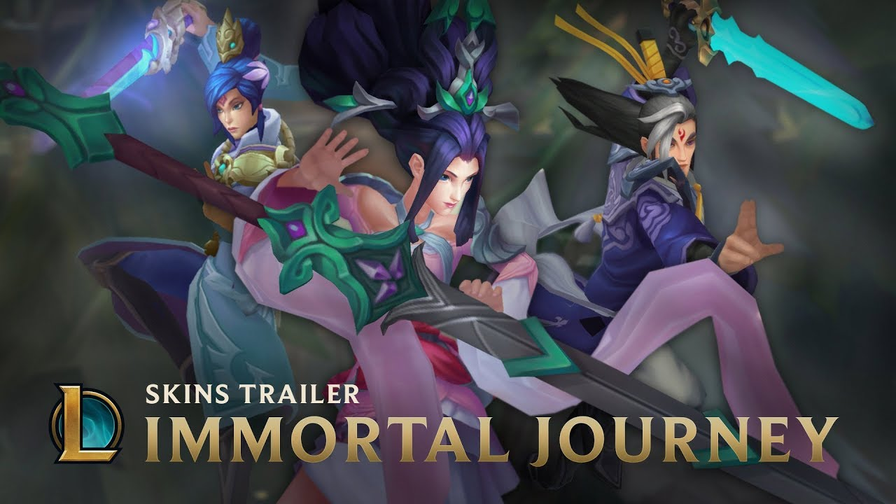 New Epic skins: Immortal Journey | League of Legends