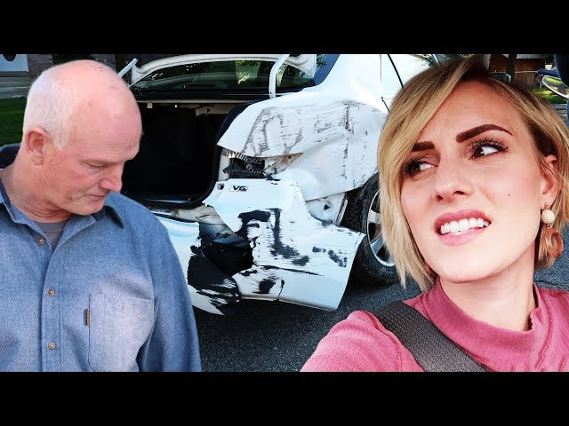 Car Crash - Happy To Be Alive | Ellie And Jared