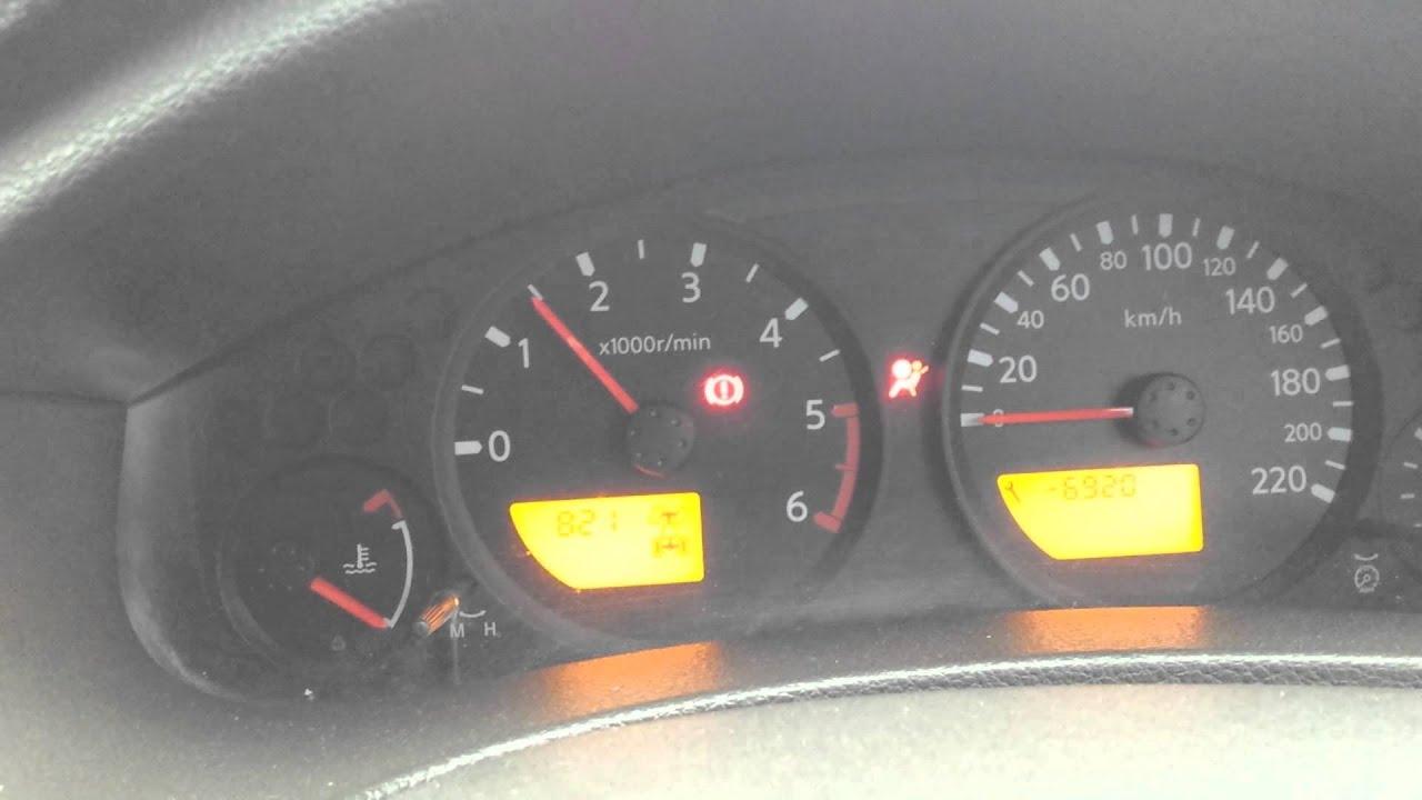 Nissan Navara D40 Stalling on start up / Rev fluctuation 1