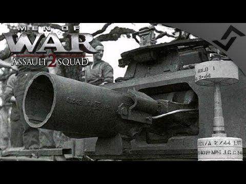 AVRE vs Brummbär 4v4 Robz Mod - Men of War: Assault Squad 2 Multiplayer