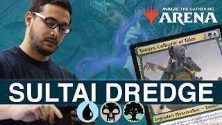 MTG Arena: Sultai Dredge with Ali Aintrazi [Bo1 Format]