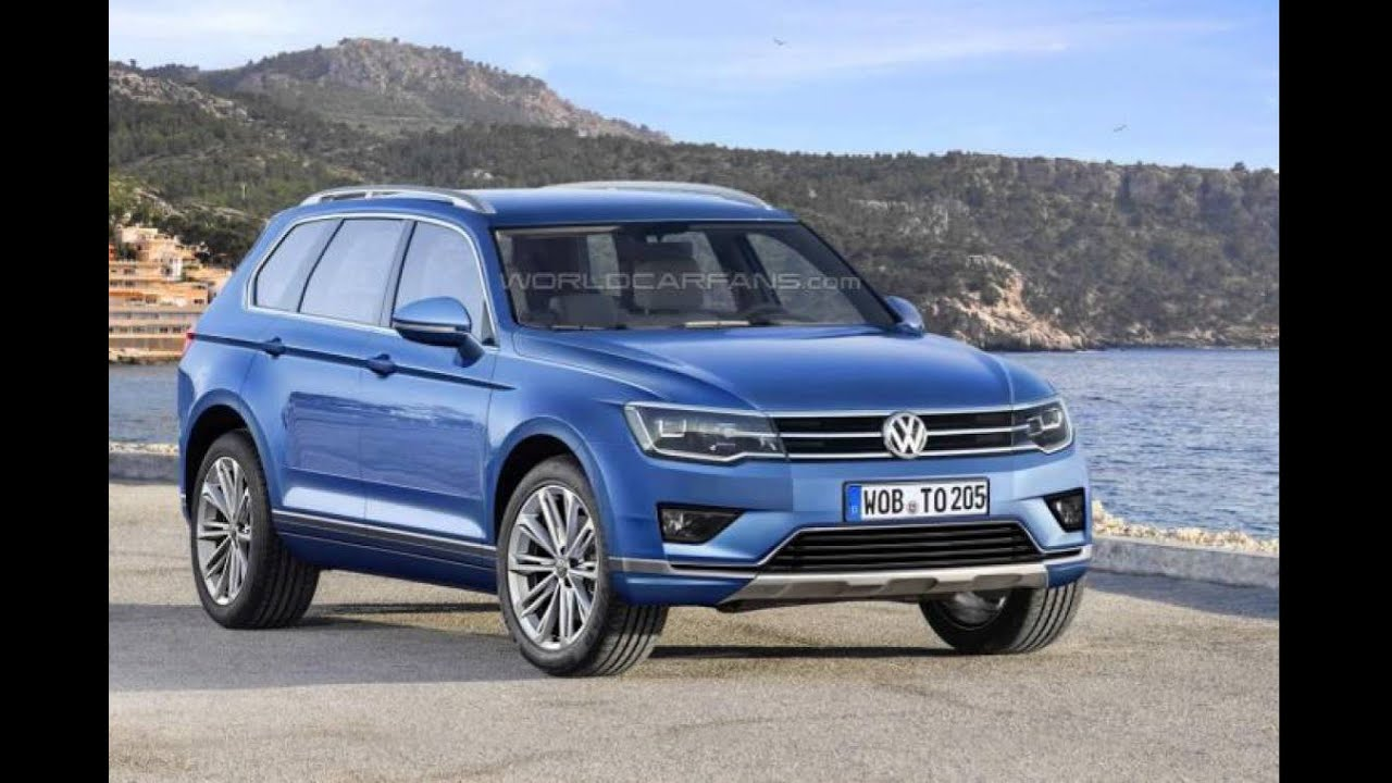 2017 volkswagen touareg digitally imagined youtube. Black Bedroom Furniture Sets. Home Design Ideas