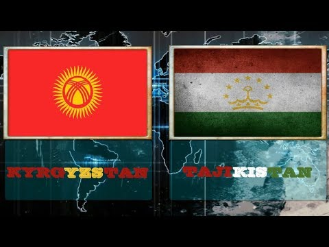 KYRGYZSTAN VS TAJIKISTAN -  Military Power comparsion 2018