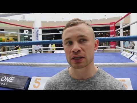 'I THINK THAT JOSH TAYLOR WILL MAKE OHARA DAVIES QUIT IN THE FIGHT' - SAYS CARL FRAMPTON