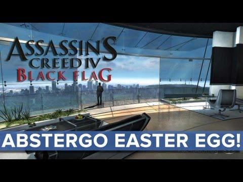 Assassin's Creed 4: Black Flag - Abstergo Easter Egg - Eurogamer