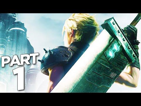FINAL FANTASY 7 REMAKE Walkthrough Gameplay Part 1 - INTRO (FF7 REMAKE)