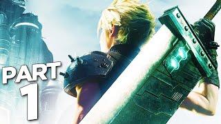 Final Fantasy 7 Remake Walkthrough Gameplay Part 1 - Intro  Ff7 Remake