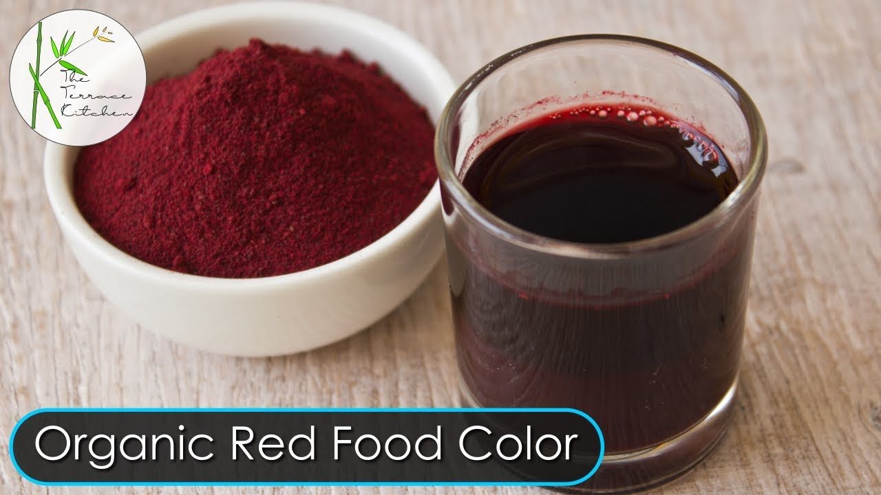 100% Natural Homemade Red Food Color Recipe | For Restaurant Style ...