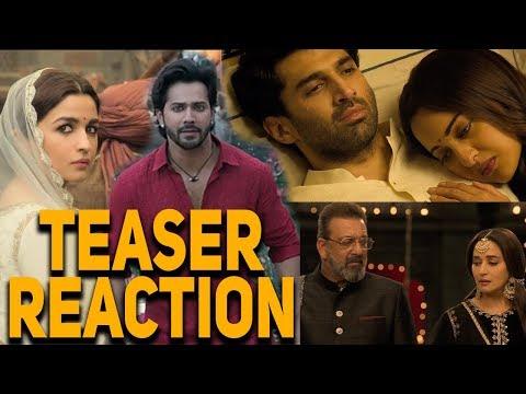 Kalank Teaser Reaction  Varun Aditya Roy Sanjay Alia Sonakshi Madhuri Abhishek Varman