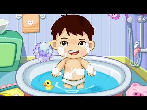 Bambino Bagno Toilet Training - lavarsi le mani, lavarsi i denti, il bagno