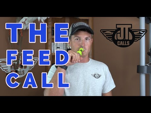 Duck Calling - The Feed Call (How To On A Duck Call)