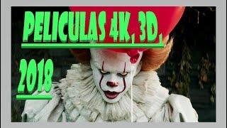 Descargar películas en 4K y 3D
