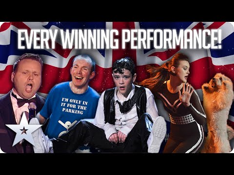 Every WINNING Finale Performance! | Series 1 - 13 | BGT 2020