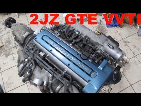 2JZ GTE vvti Подготовка Двигателя к Свапу