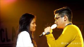Bukan Cinta Biasa - Afgan with Lucky Girl Nia