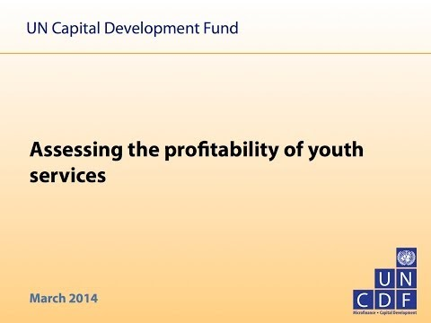 Webinar: Building the Case for Youth Services  CYFI - UNCDF - 20/03/2014